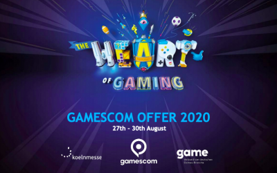 Participez à la version digitale de la Gamescom / Devcom 2020